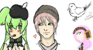 Vocaloid on Iscribble by Sweetie-fangirl