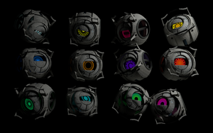 Portal 2 cores - wallpaper by egeres
