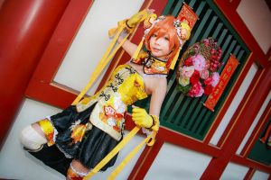 Love Live! - Strongest Kung Fu Idol Hoshizora Rin by Xeno-Photography