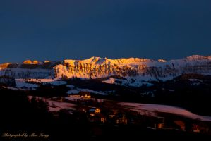 Abendstimmung 7 Hengste by MarcZingg