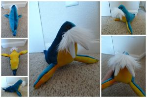 The Blue and Yellow Hyneman by IckyDog