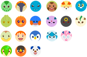 Pokemon buttons part 2 by lordbatsy
