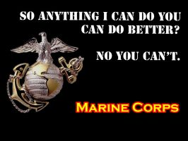 Marine Corps Wallpaper by Chiro-Taq