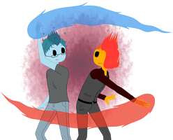 Ember and Ash (Contest Entry) by AlwaysForeverHailey