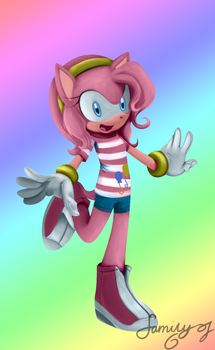 Amy Pie / Pinkie Rose by familyof6