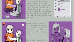 Basic Lineart and CG Tutorial by Mila-Valentine