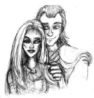 Loki and Illyria : You Found Me by MademoiselleMeg