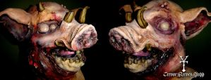 Tremens - Pig mask complete by NOWorTREVOR