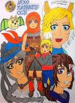 History of hunters Sen-Mithrarin- Nexo Knight OC'S by clubpenguin1