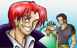 Shanks first mates by Aquamarin