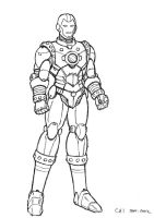 Iron Man Design by cwmodels