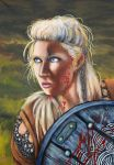Shieldmaiden by flaming-trout