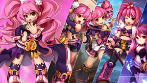 Amy - Grand Chase (Wallpaper V2) by Sr-Fadel