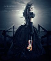 The Violin by darkangelofpain