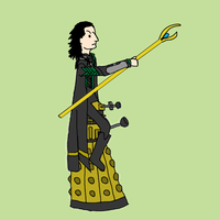 The Daleks Found Their Elegance by thenextdoctor42