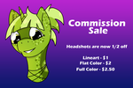 [OFFER CLOSED] Commission Sale - Headshots by ForeverRoseify