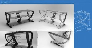 ED4824M tv stand by 3DEricDesign