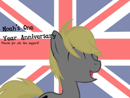 One Year Anniversary by Noah-x3