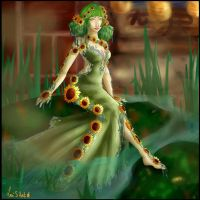 Lullaby - Contest Miss AC ASK - Wedding Dress by Looche