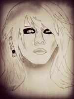 Ruki (the GazettE) by Kikyu12