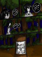Lost in the forest slenderman's kingdom part 5 by floriyon