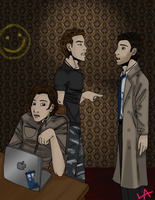 Three (SuperWhoLock Version) by EveryDayArtist