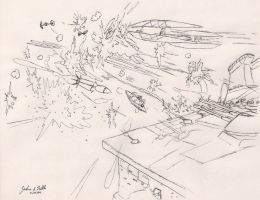 Clone Wars Defend the Bridge by Tribble-Industries