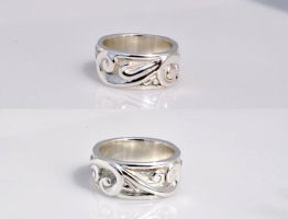 Sculpted Scroll Bands by DrFazer