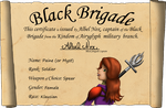 Black Brigade Application by Myst-the-Wicked