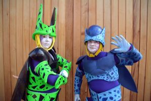 Perfect Cell  Imperfect Cell Cosplay (2) by masimage