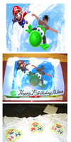 Have a Very Mario Birthday by ImagenAshyun