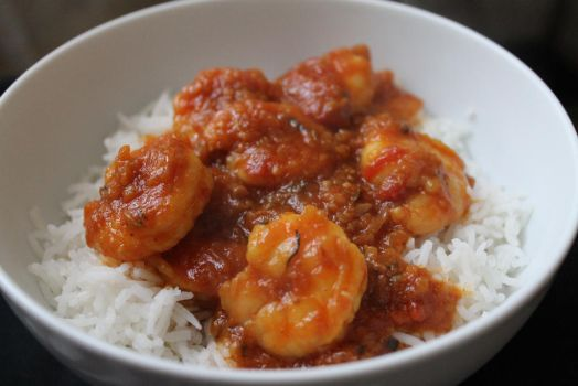 Prawn curry by starpersona