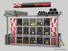Product display model by zubagvatic