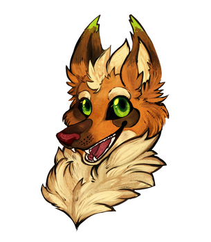 Headshot Commission - megaplayer1998 by Snorechu