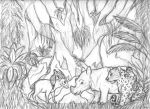Earth Day 2014 Rough Sketch by wahyawolf