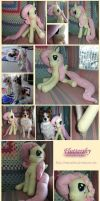 My Little Pony - Fluttershy Plushie the First by Matsuban