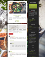 Blogger template Let's cook by stupid-owl