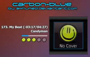 Carbon-Blue v1.0 by 3xhumed