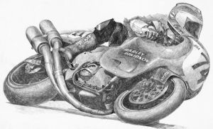 Pencil drawing by Jean-Luc1964