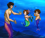 TLM - Come here my little fishies by x-Lilou-chan-x