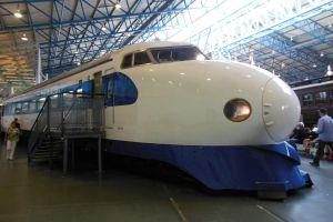 Shinkansen at NRM York by rlkitterman