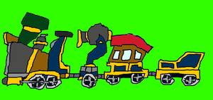 Christmas Trains 1 by conlimic000