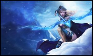 Ashe _ League of Legend by A-Spoon