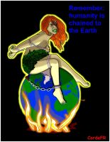 Poison Ivy and Global Warming by cordefr