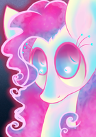 neon shadows by OliverThePanda