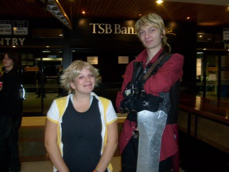 WG '09 - Tidus and Dante by RubyDust