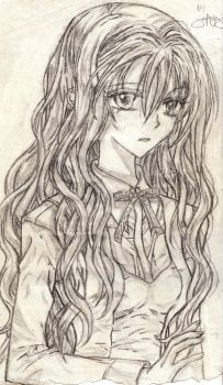 curly hair by animeeumei01