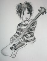 Toshiya for a Present by Ange-Gothique