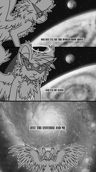 The Universe and Me by spinnando