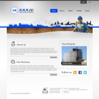 MMM co. Website design by ohmto